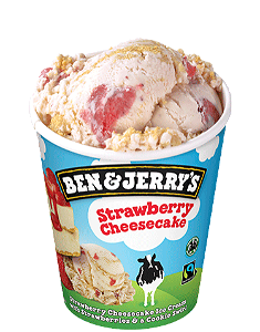 Foto Ben & Jerry's Strawberry Cheesecake