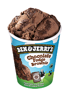 Foto Ben & Jerry's Chocolate Fudge Brownie